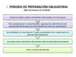 1 periodo de preparaci n obligatoria del 1 de enero al 31 de 2014