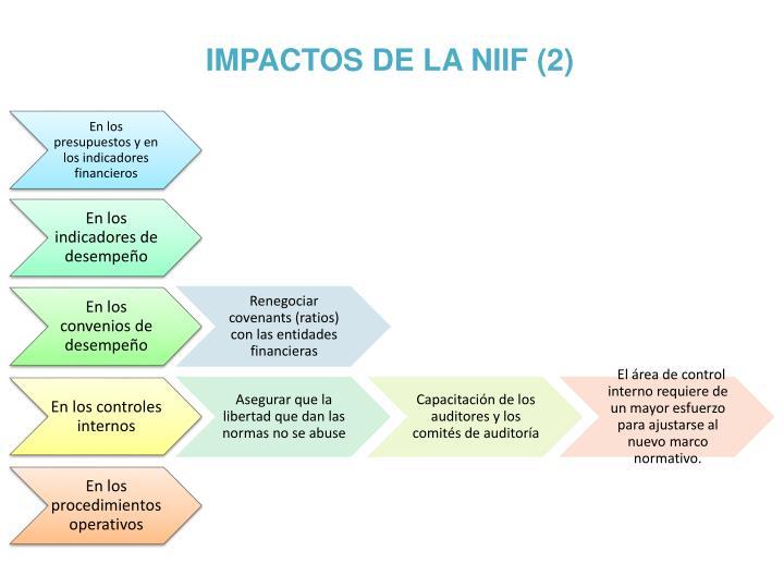 IMPACTOS DE LA NIIF (2)