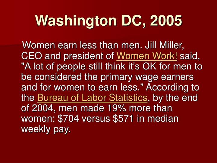 Washington DC, 2005