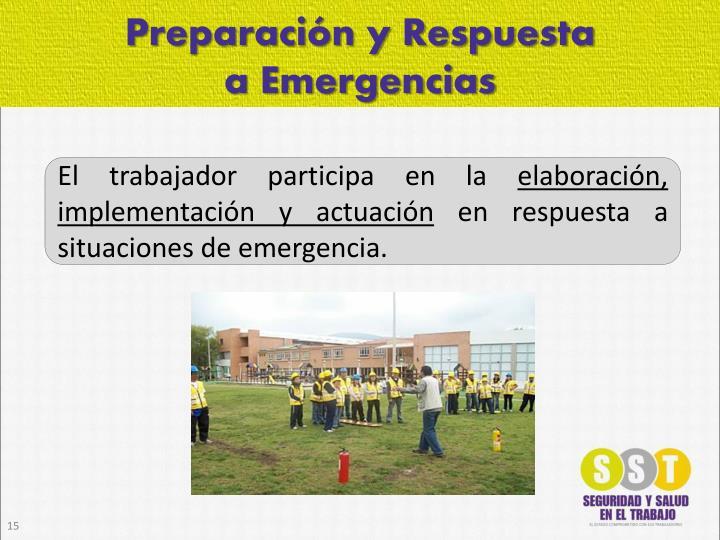 Preparación y Respuesta