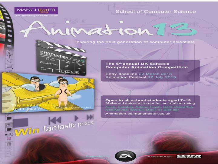 Animation 13 competition