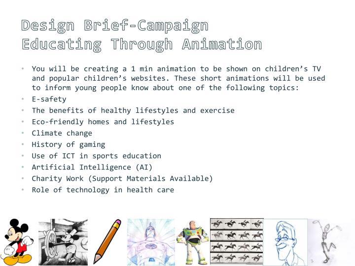 Design Brief-Campaign