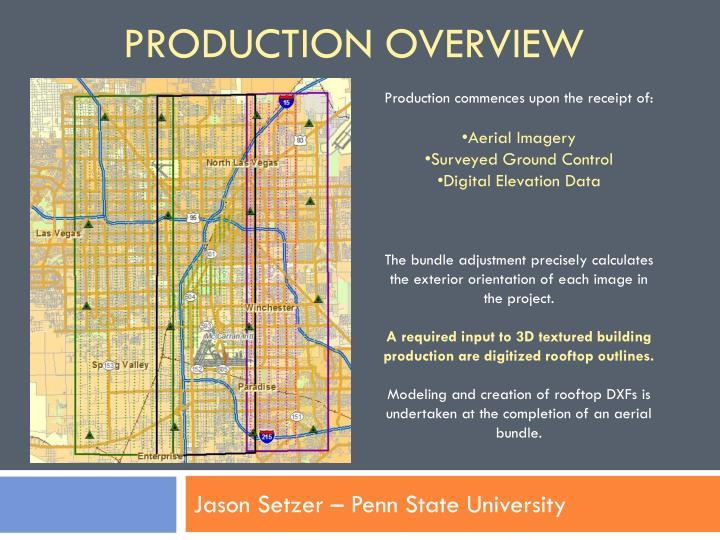 Production Overview