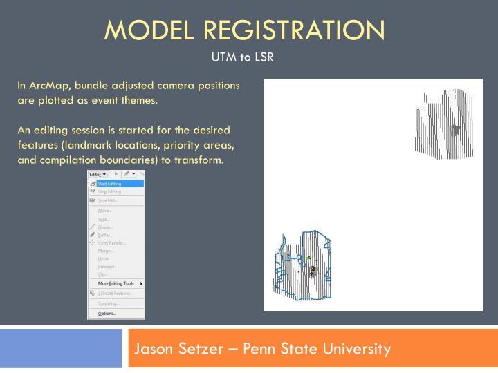 Model Registration