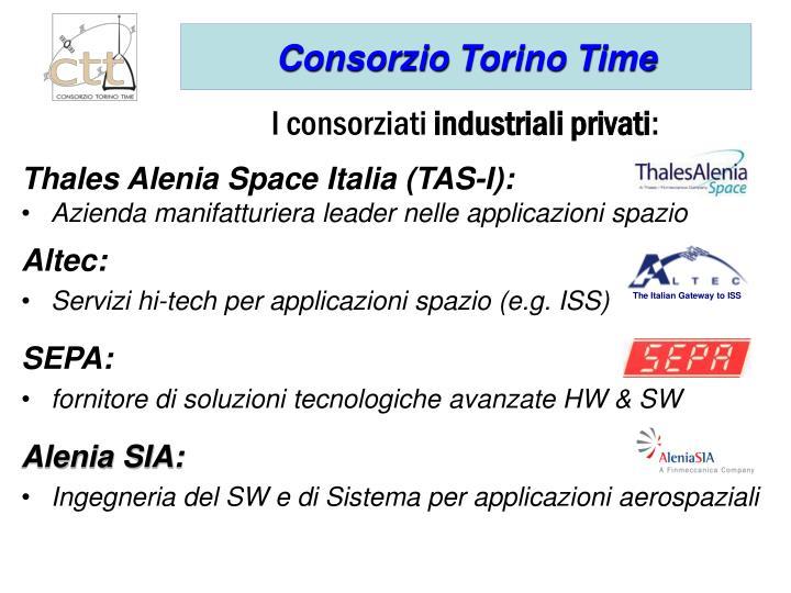 Thales Alenia Space Italia (TAS-I):