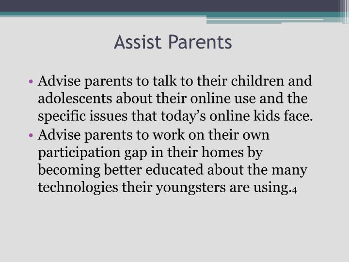 Assist Parents