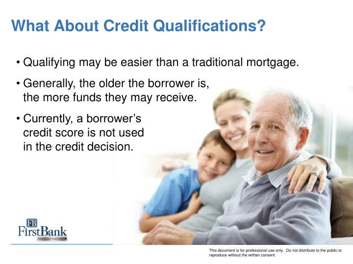 What About Credit Qualifications?