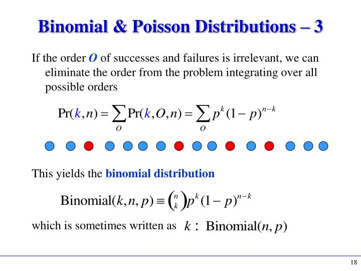 Binomial & Poisson Distributions –