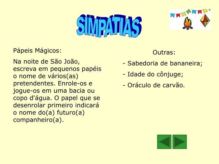 SIMPATIAS
