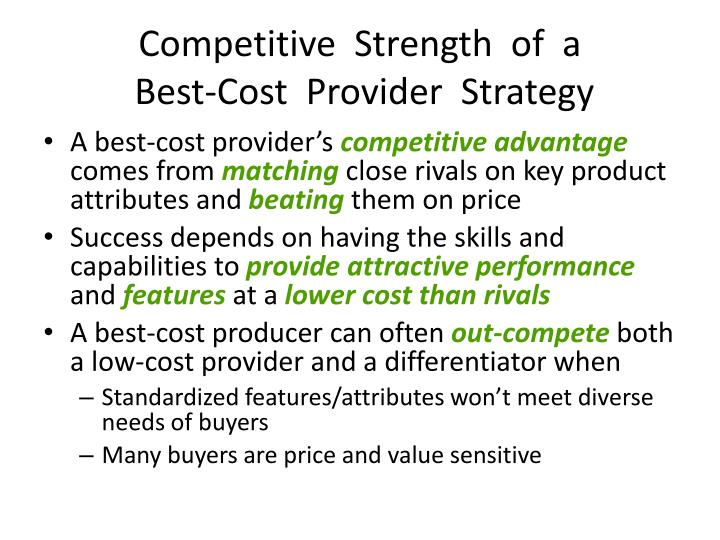 Competitive  Strength  of  a