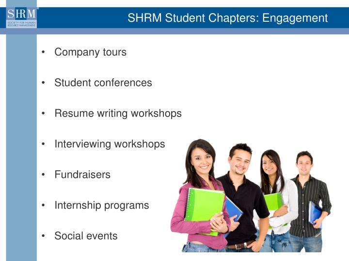 SHRM Student Chapters: Engagement
