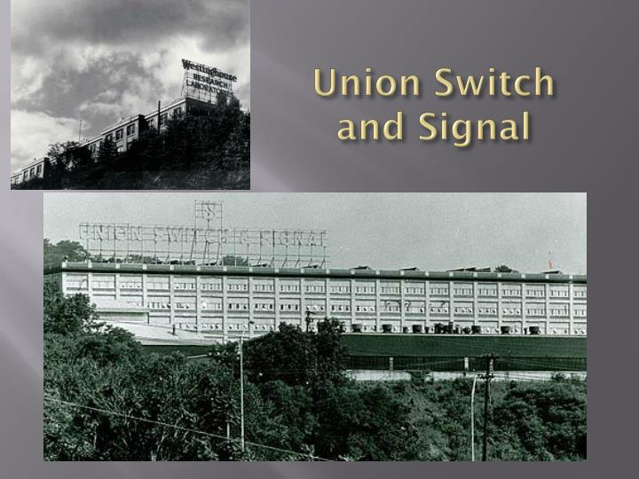Union Switch and Signal
