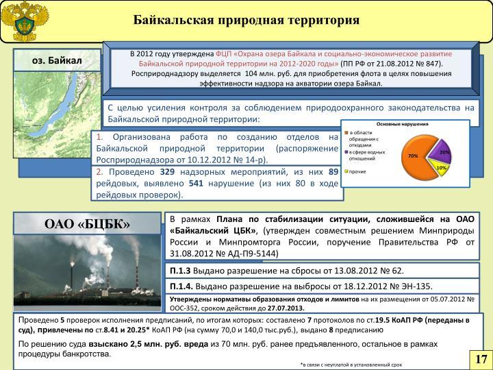Байкальская природная территория