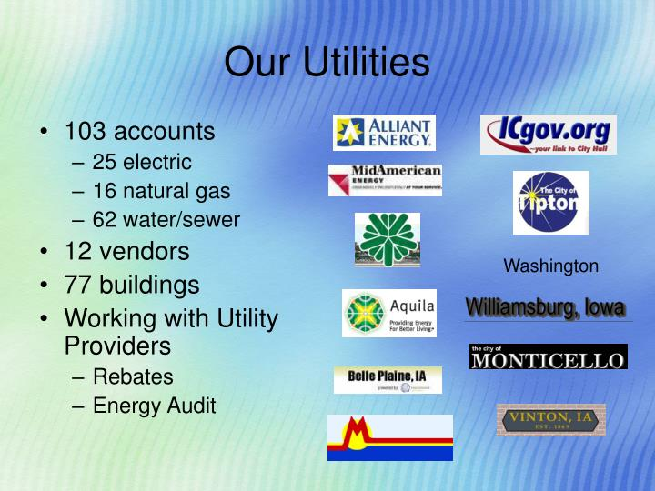 Our Utilities