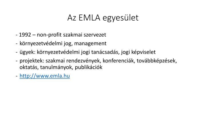 Az EMLA egyesület