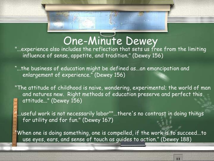 One-Minute Dewey