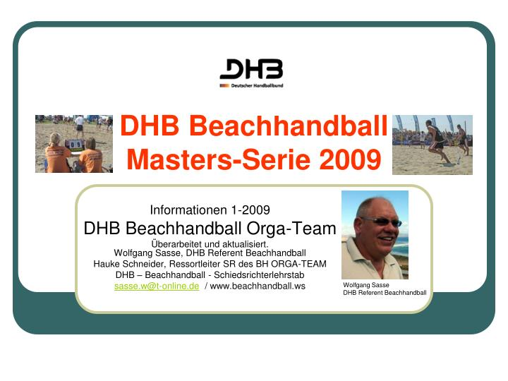 DHB Beachhandball