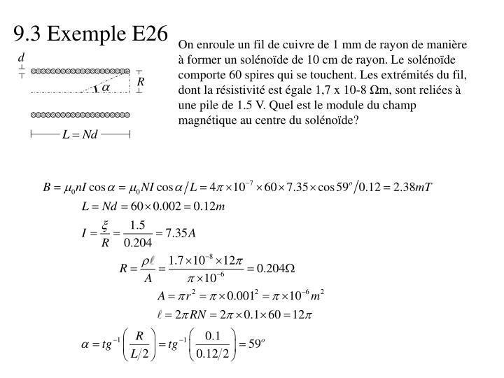 9.3 Exemple E26