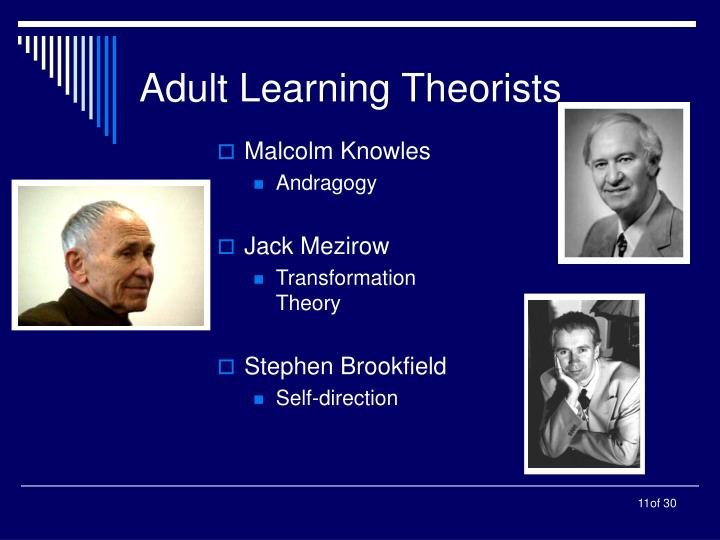 Adult Learning Theorists