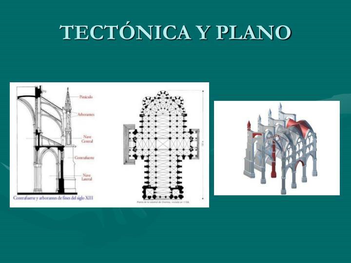 TECTÓNICA Y PLANO