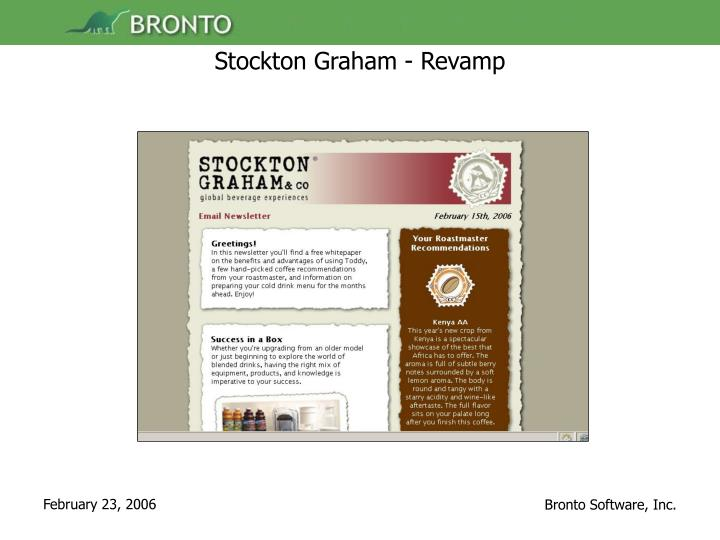 Stockton Graham - Revamp