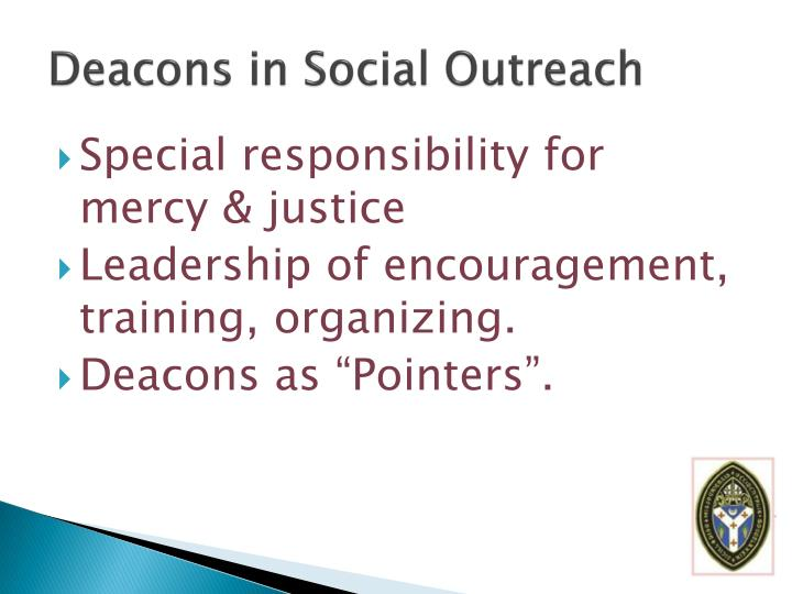 Deacons in Social Outreach