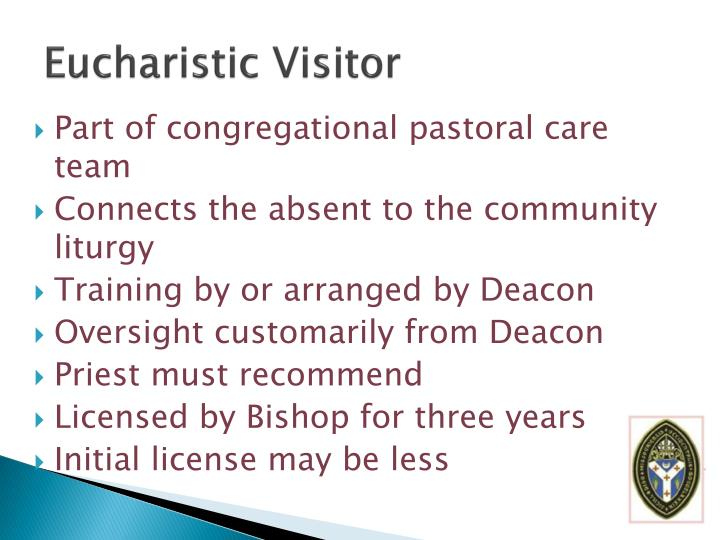 Eucharistic Visitor