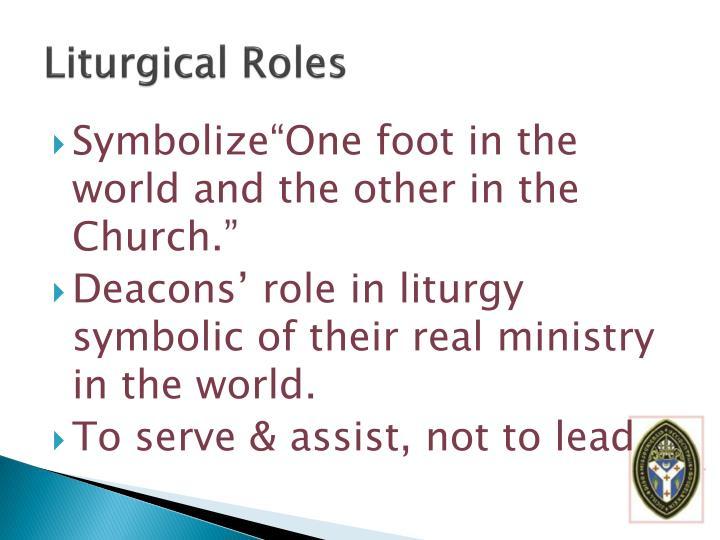 Liturgical Roles