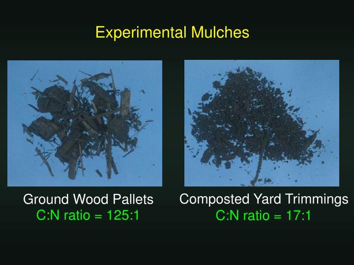 Experimental Mulches