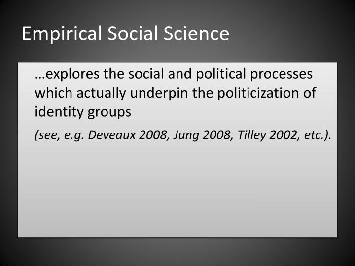 Empirical Social Science