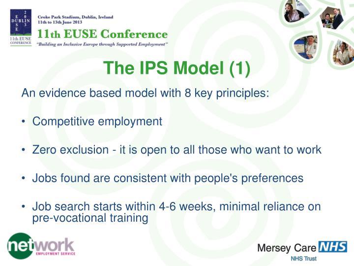 The IPS Model (1)