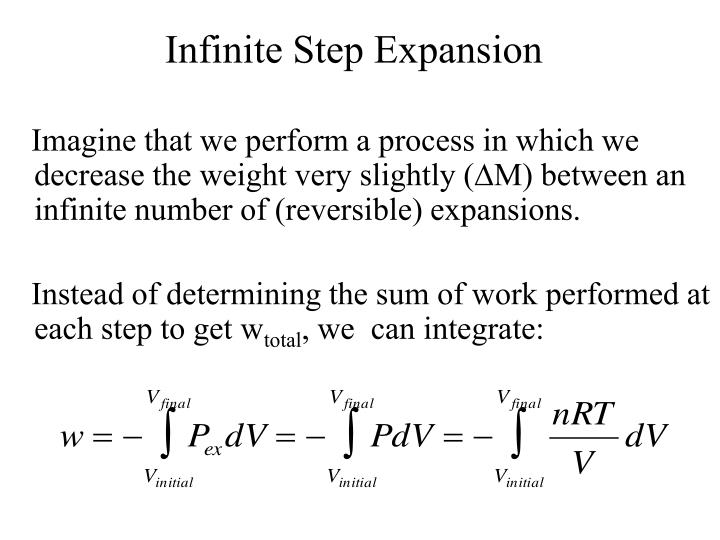 Infinite Step Expansion