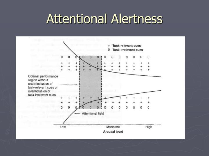 Attentional Alertness