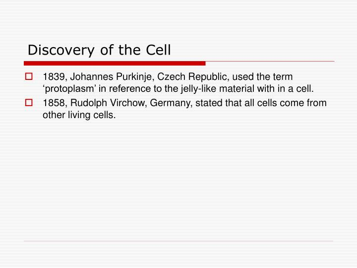 Discovery of the Cell