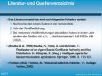 literatur und quellenverzeichnis
