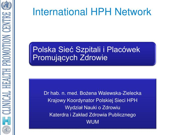 international hph network