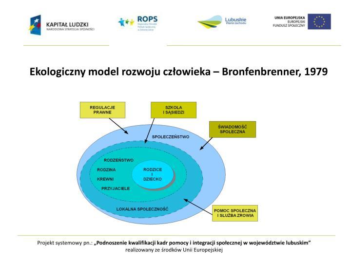 Ekologiczny model rozwoju człowieka –