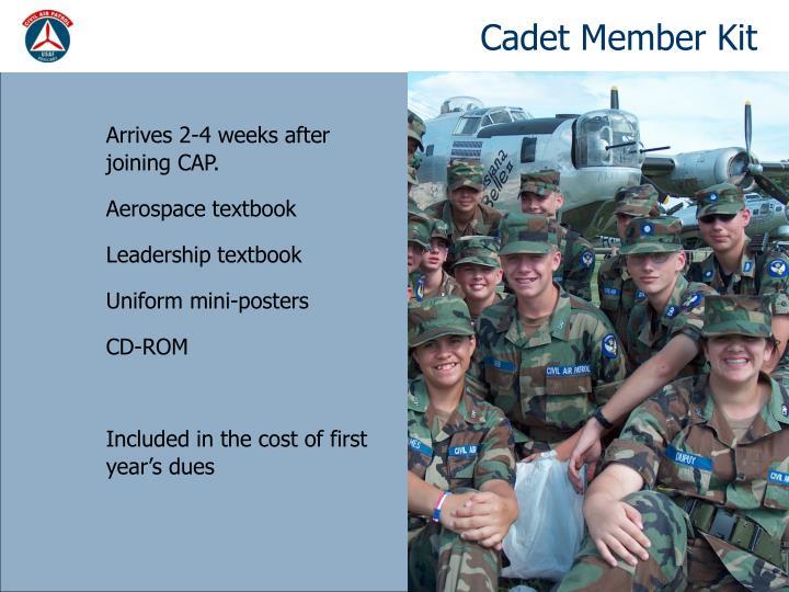 Cadet Member Kit