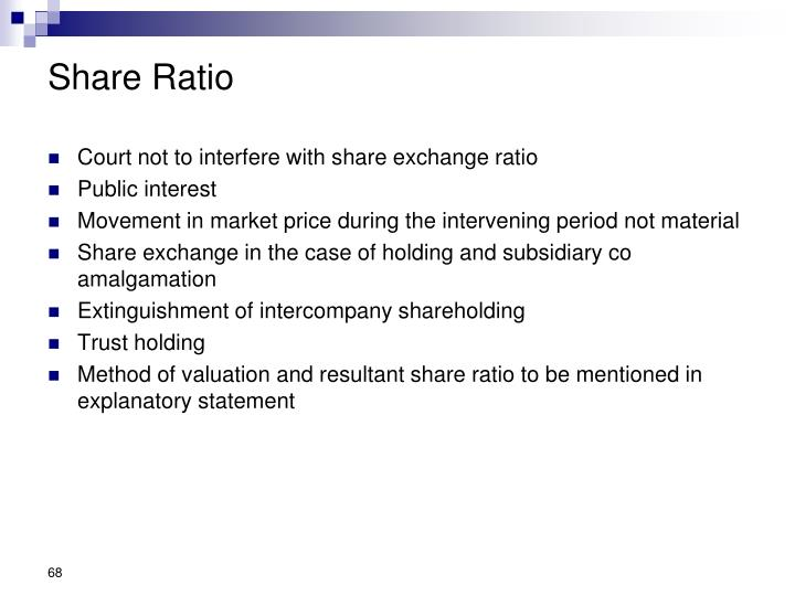 Share Ratio