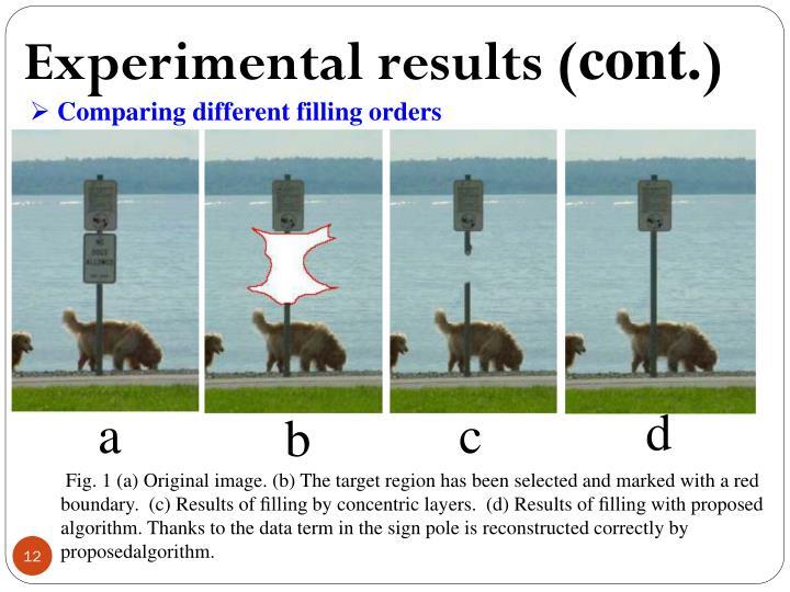 exemplar based image inpainting pdf