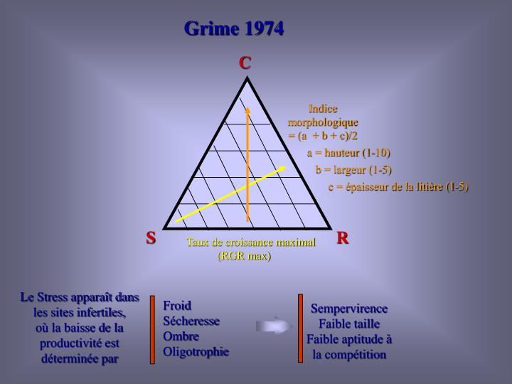 Grime 1974