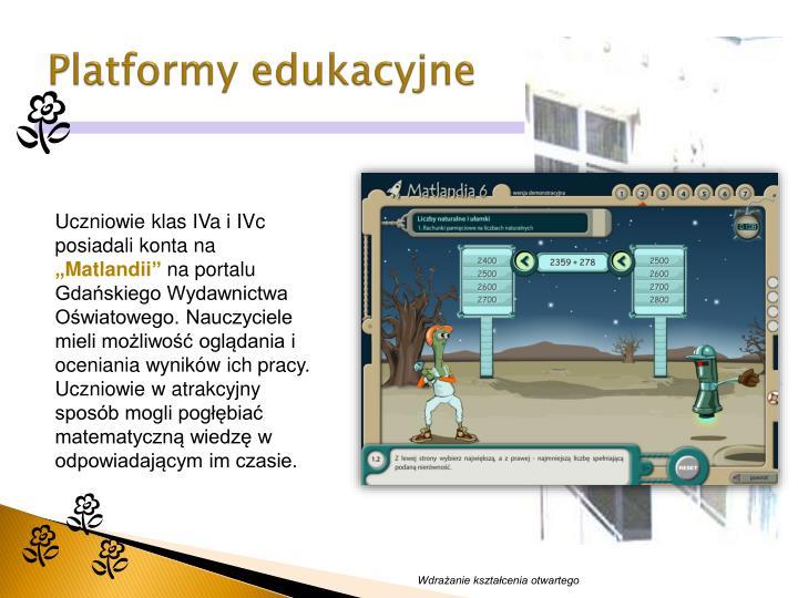 Platformy edukacyjne