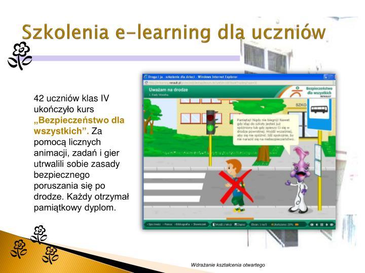 Szkolenia e-learning dla uczniów