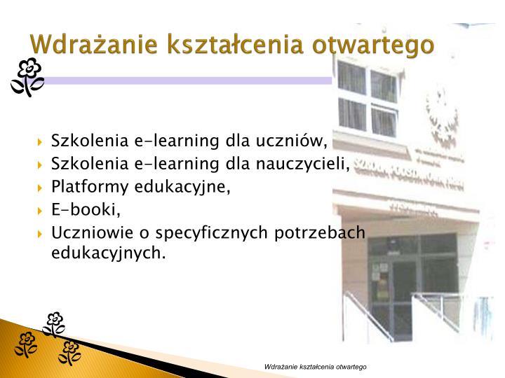 Wdrażanie kształcenia