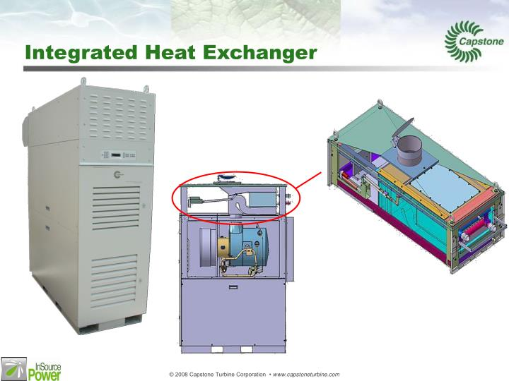 Integrated Heat Exchanger