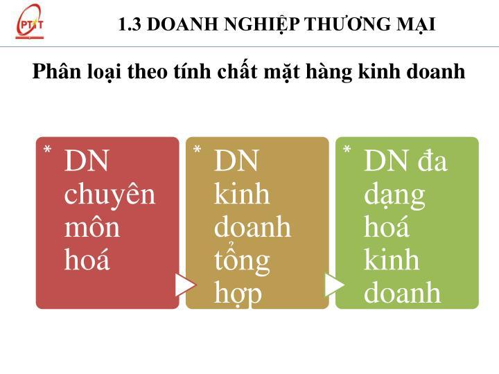 1.3 DOANH NGHIỆP TH
