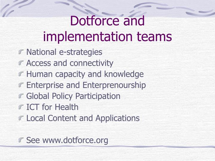 Dotforce and