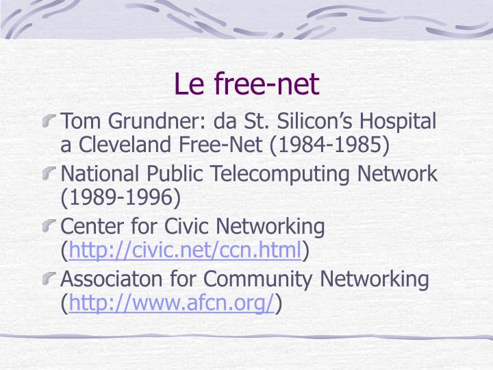 Le free-net