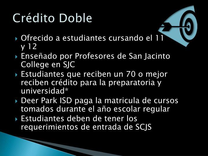 Crédito Doble