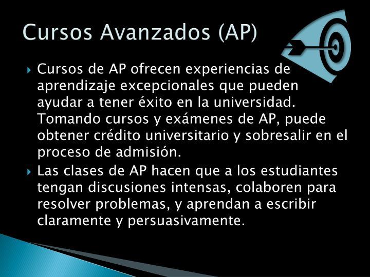 Cursos Avanzados (AP)